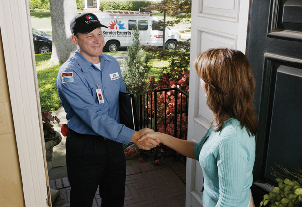 in-home estimate from Broad Ripple Service Experts Heating & Air Conditioning